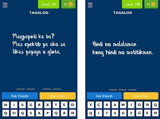 uLOL Tagalog Logic and Trivia Answers for Level 181 to 210