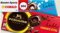 Logo Vinci 30 Gift Card Conad da 50€ con Perugina e Tablò