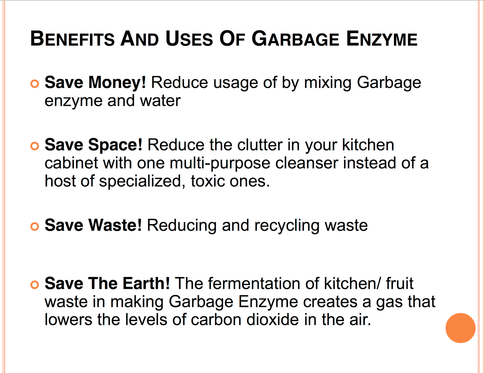 garbage enzyme An organic cleaning solution called the eco enzymes is fast picking up  in an  age where heaps of garbage is generated each day, can we put.