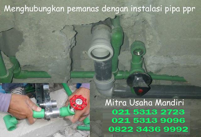 Pipa PP-R untuk Instalasi Air Panas & Dingin