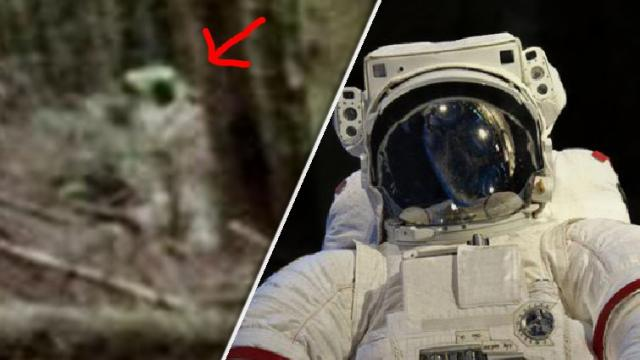 Un nuevo avistamiento del misterioso astronauta
