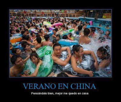 Piscinas públicas en China