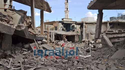 اخبار سوريا اليوم .. عشر قتلى في قصف حمص الشمالية
