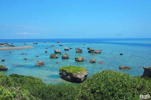 View from Higashi Hennazaki, Miyakojima