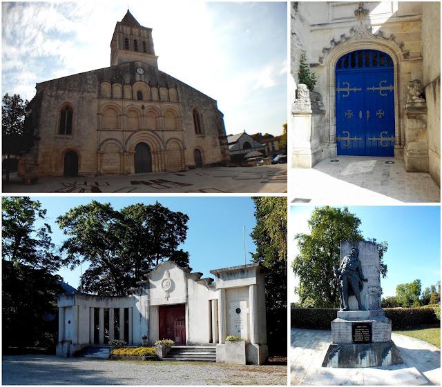 jonzac, église, porte, monument, bullelodie