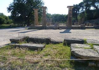 El Altar de Hera, Olimpia.
