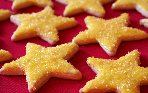 Resep Kue Kerststerren (Bintang-bintang Natal)