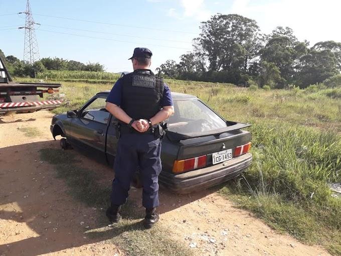 CACHOEIRINHA | Guarda Municipal recupera carro que foi roubado no bairro Jardim do Bosque