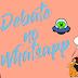 Temas polêmicos em discussão no grupo 'Debate no WhatsApp', participe!