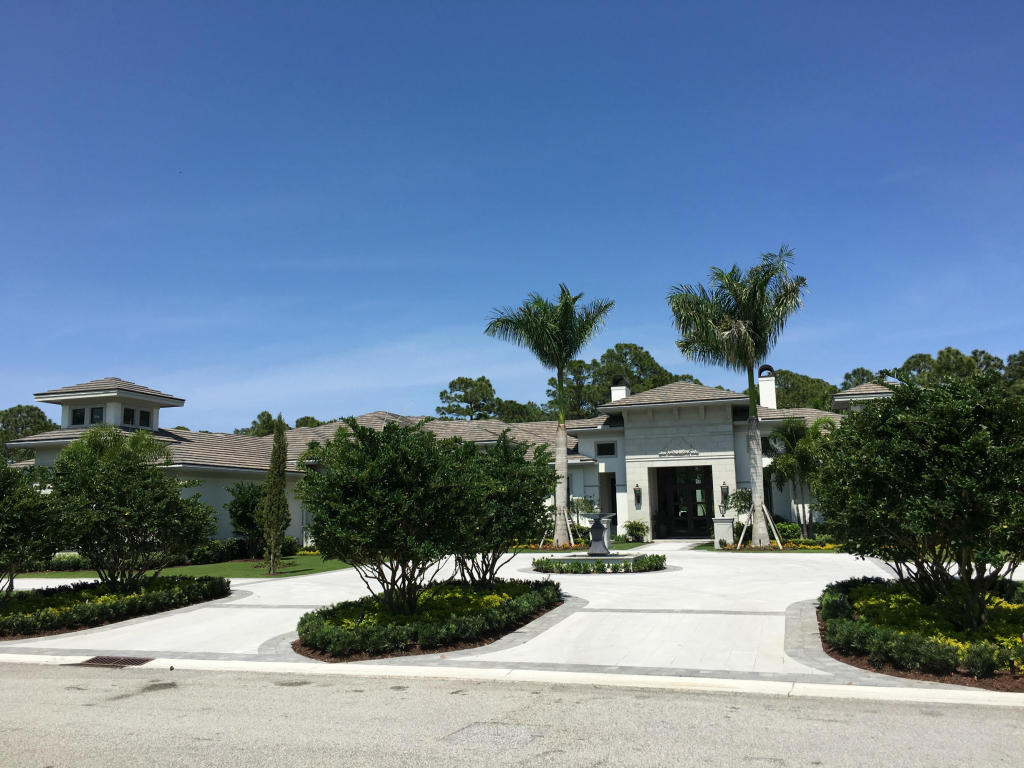Florida Real Estate Old Palm Estate Just Listed In Palm Beach Gardens