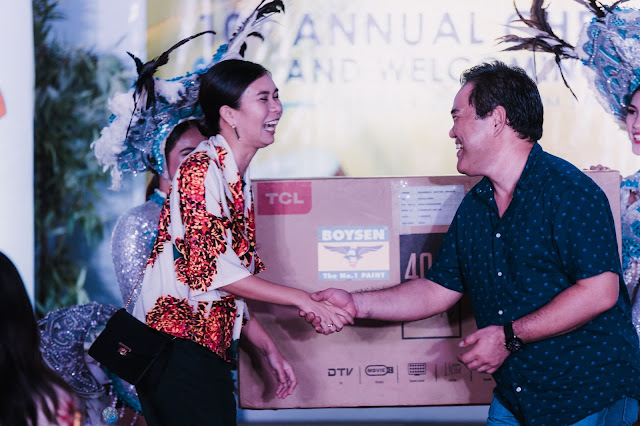 Interior Designer Jessa Mendez won the grand prize from Boysen Philippines