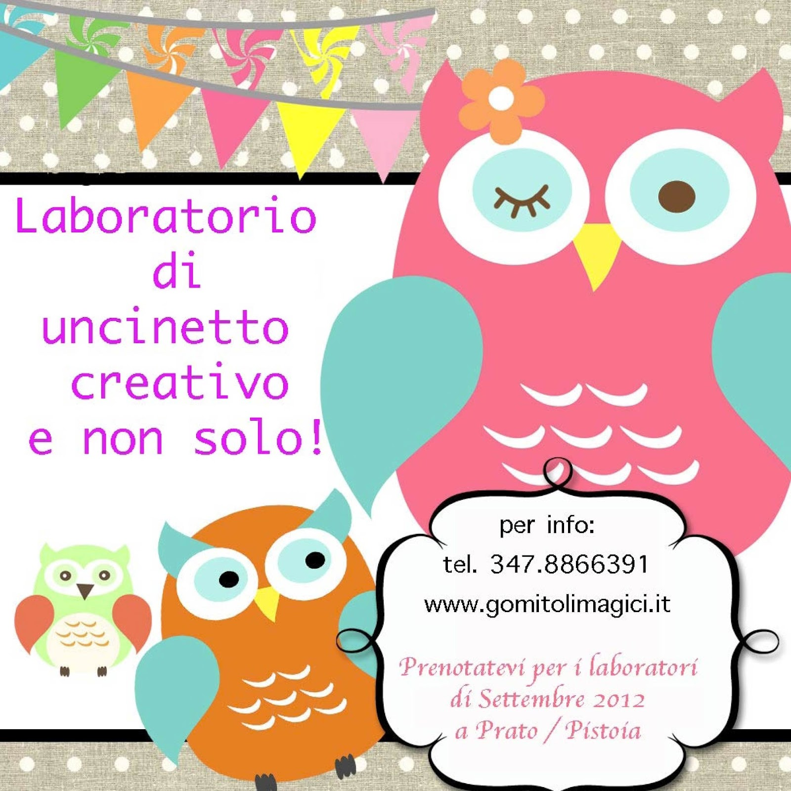 laboratorio di uncinetto Prato