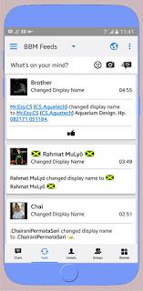 BBM Mod Iphone Style IOS Versi APK+DATA v3.2.3.11 Terbaru 2017