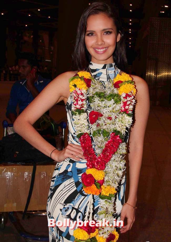 Megan Young, Miss World 2013 Megan Young in India