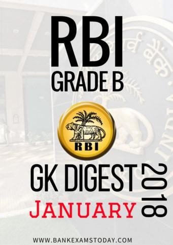 RBI GRADE B GK DIGEST