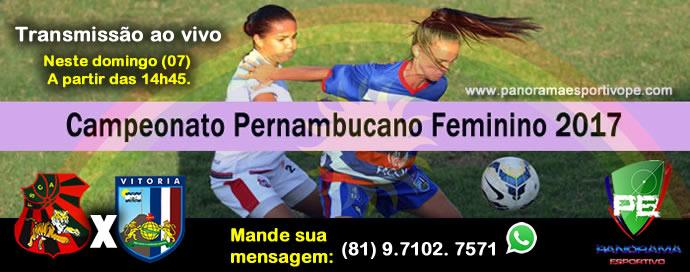 Panorama Esportivo PE  PE FEMININO  Hoje - Flamengo de Arcoverde x ... 3240eccb9e7dd