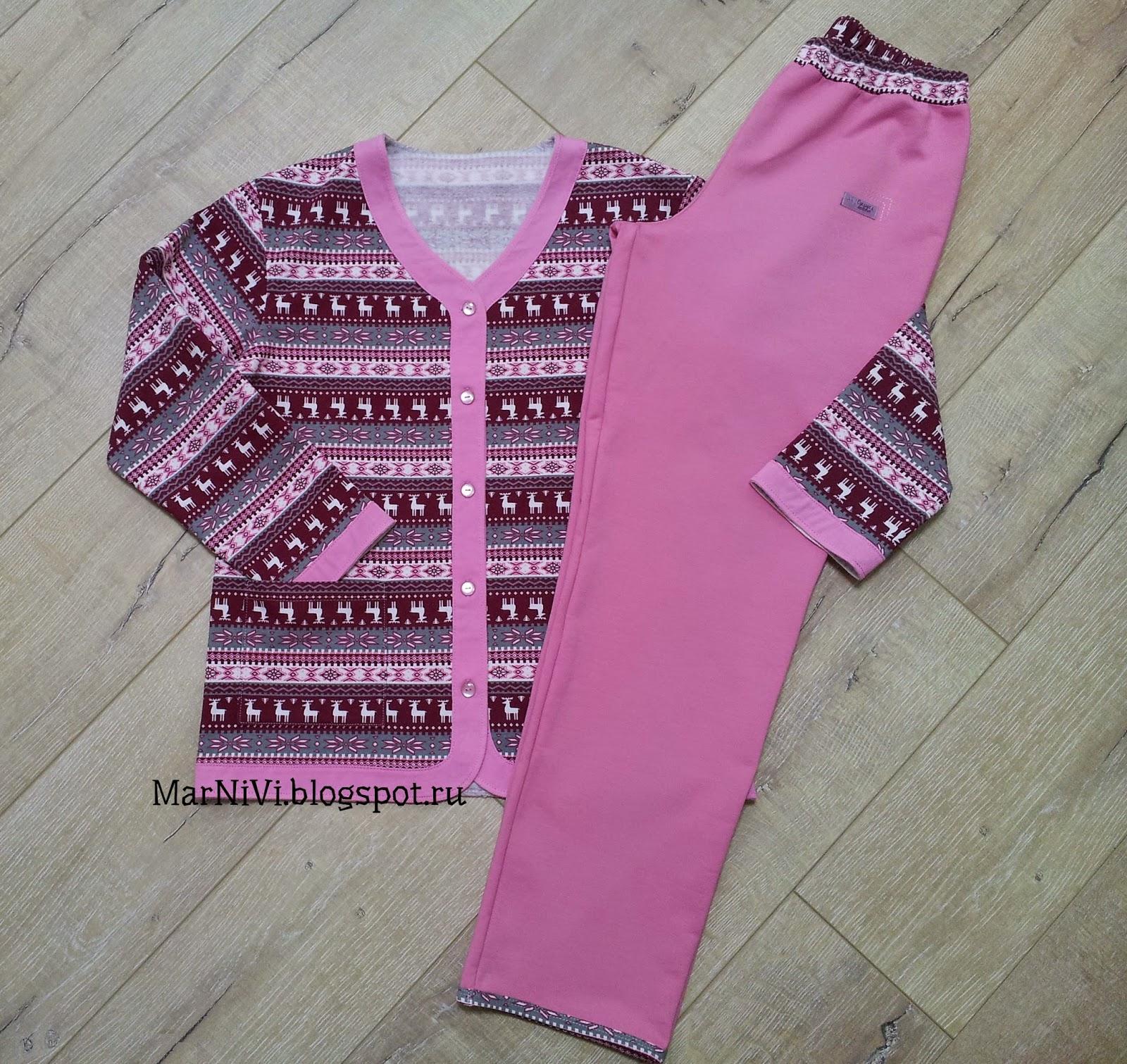 Люблю жить и шить  -)  Теплые пижамы 9490533404f40