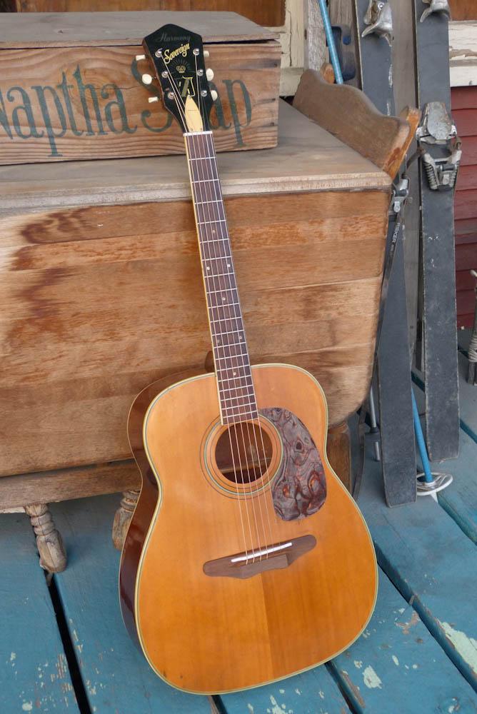 "Gibson Guitars For Sale >> Jake Wildwood: 1972 Harmony H1260 ""Sovereign"" Flattop ..."