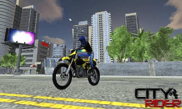 تحميل لعبة City Moto Racer