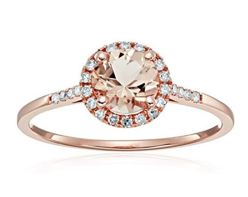 Best 8 Rose Gold Engagement Rings Under 500 Dollars AZRING