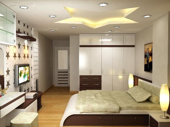 Thiết kế mẫu phòng ngủ căn hộ The K Park
