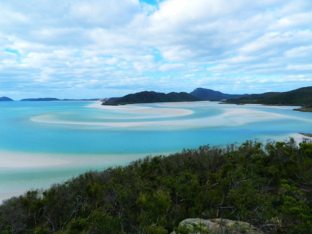 hill inlet lookout whitsunday australia