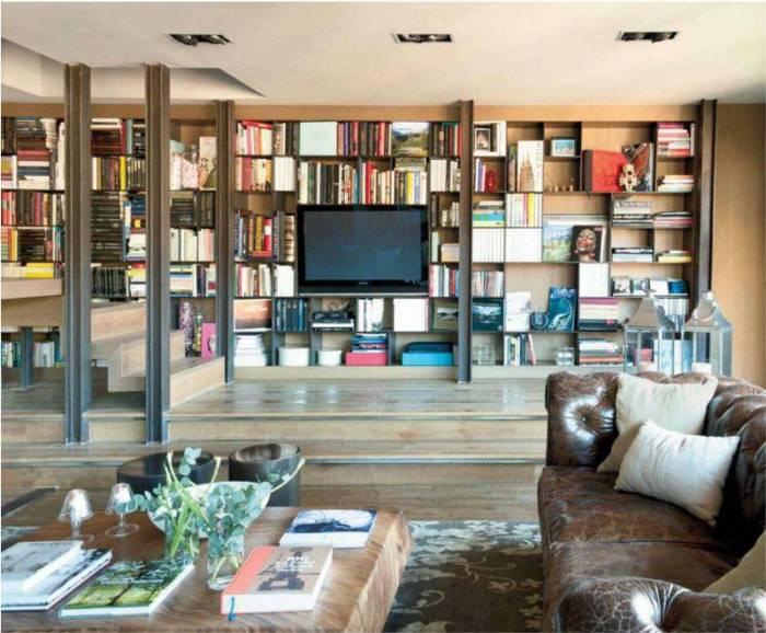 Hogares frescos un tico vivido interiorismo con lujo y riqueza en la decoraci n - Alfombras bsb ...
