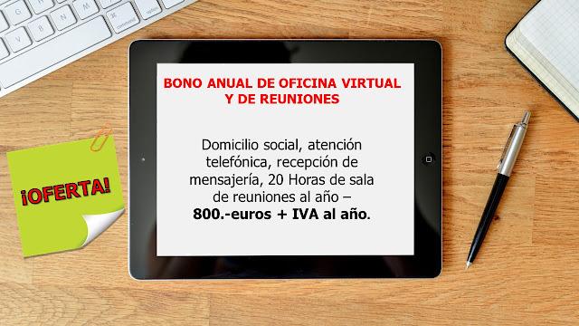 Oficina Virtual, Domicilio social en Barcelona, Pedralbes, Sarriá