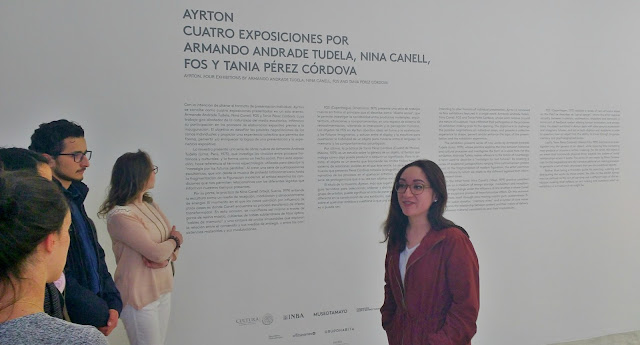 Ayrton: Exhibiciones entrelazadas