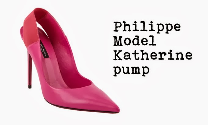 76b40b1f2 These Philippe Model pumps are perfect to me...slingback, vitaminic colors,  smooth leather...j'adore ! I'd buy the hot pink pair, but I also love the  ...