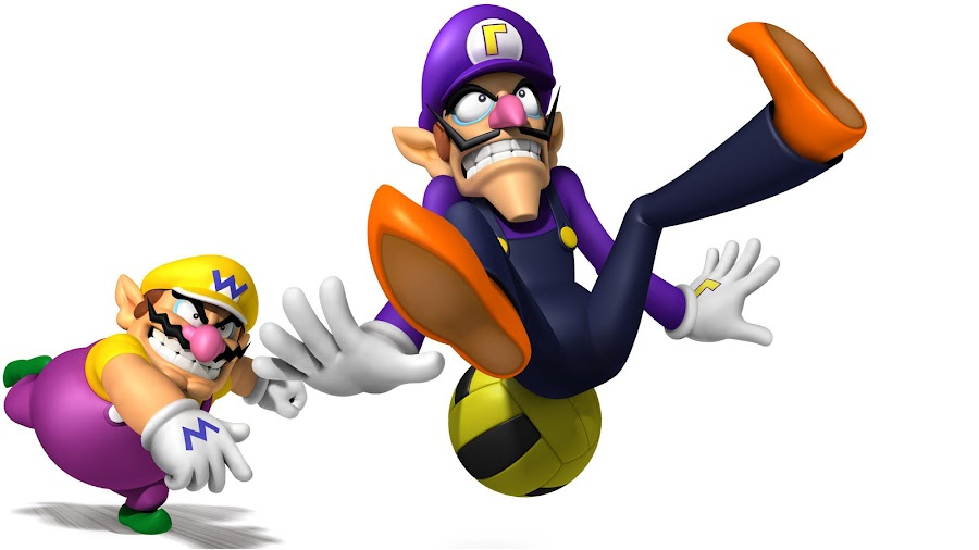 super smash bros ultimate waluigi wario