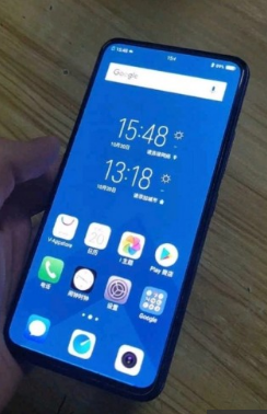 vivo NEX 2 leaks with secondary screen and three cameras on the back