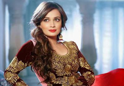 Beautiful Indian Model Diya Marza latest widescreen hot images