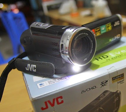 harga  JVC Evario GZ-E305BAG
