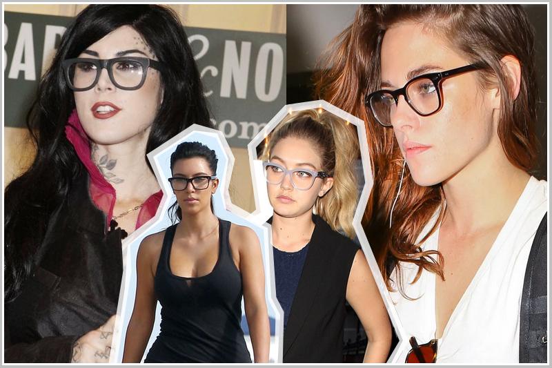 okulary nerdy, kujonki, plastikowe oprawki