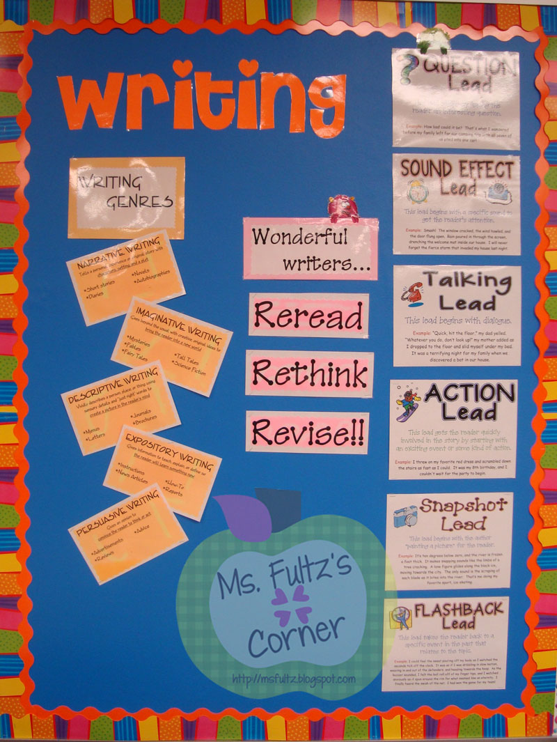 Classroom Writing Ideas ~ Classroom makeover writing christi fultz