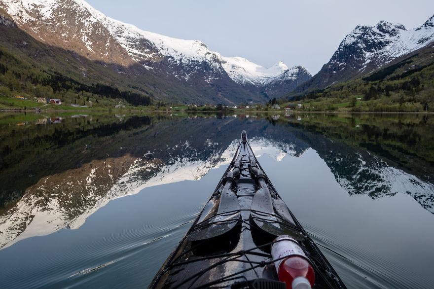 Proklitiko.gr - Τα φιόρδ της Νορβηγίας μέσα από ένα...καγιάκ! (Εικόνες)