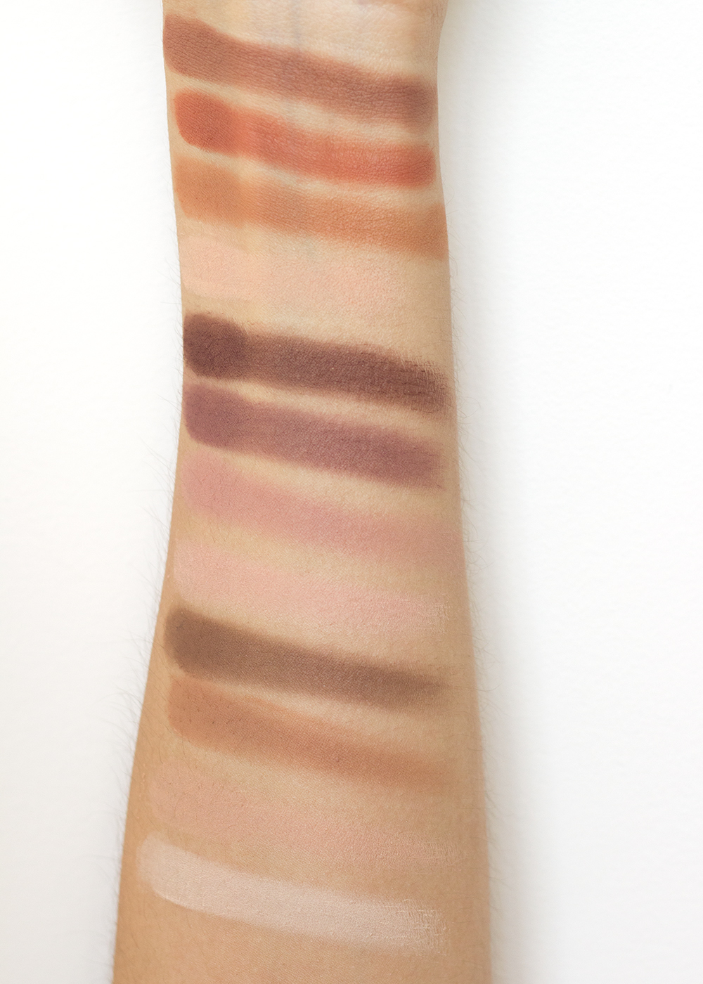 Milani Most Loved Matte Eyeshadow Palette Swatches