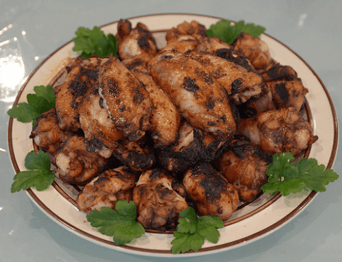 Grilled Five-Spice Chicken Wings