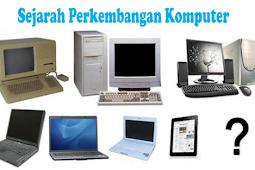 Sejarah Komputer Menurut Generasi