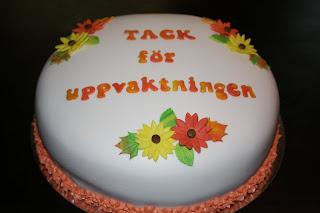 uppvaktning på födelsedag Annicake: oktober 2011 uppvaktning på födelsedag