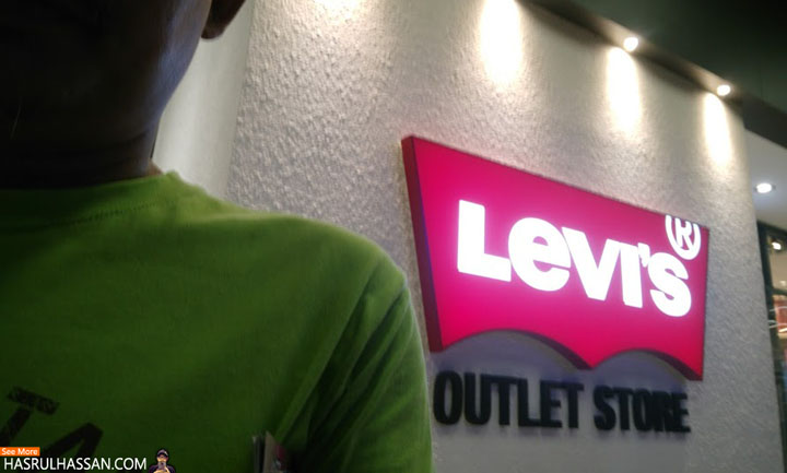 Levis Outlet Store, PBO