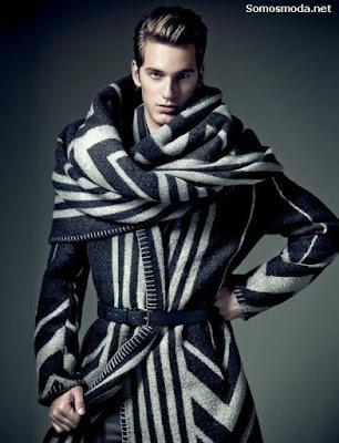 Abrigos de moda de hombre