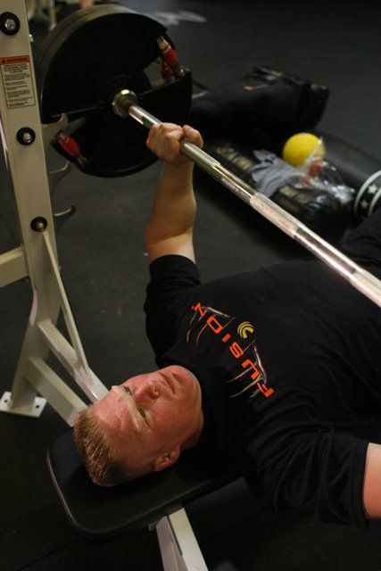 Wwe Wrestlemania Bench Press Brock Lesnar In Gym