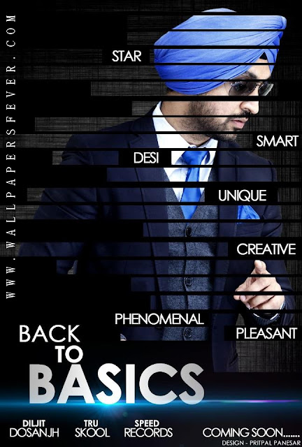 Back to Basics new Album of Diljit Dosanjh Official Poster ...