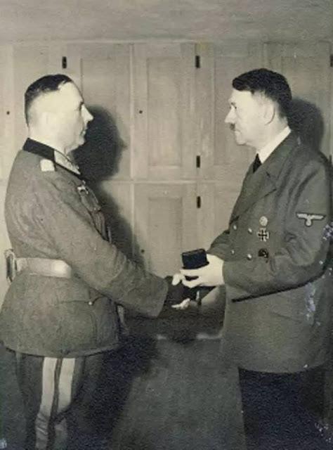 Hans-Valentin Hube Adolf Hitler worldwartwo.filminspector.com