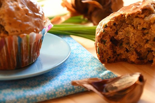 muffins ail noir stilton