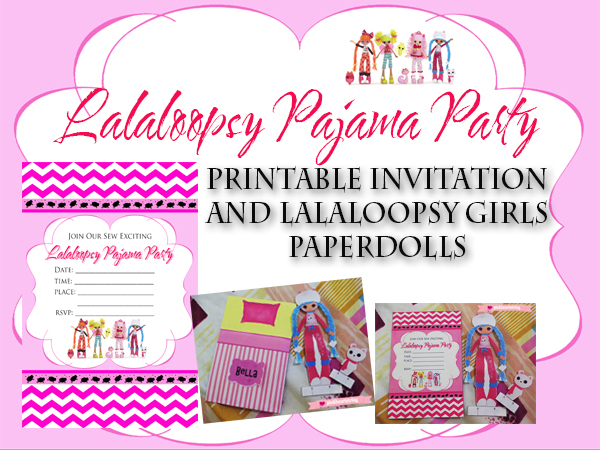 Lalaloopsy Pajama Party