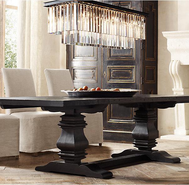 Restoration Hardware Dining Room Table: Vignette Design: Shopping For Dining Room Tables