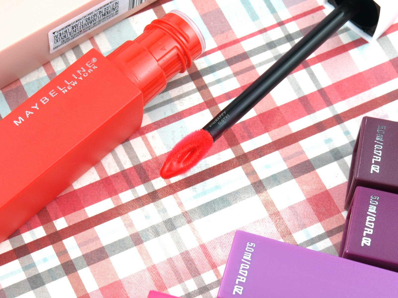 Maybelline Superstay Matte Ink Liquid Lipstick: Review and Swatches
